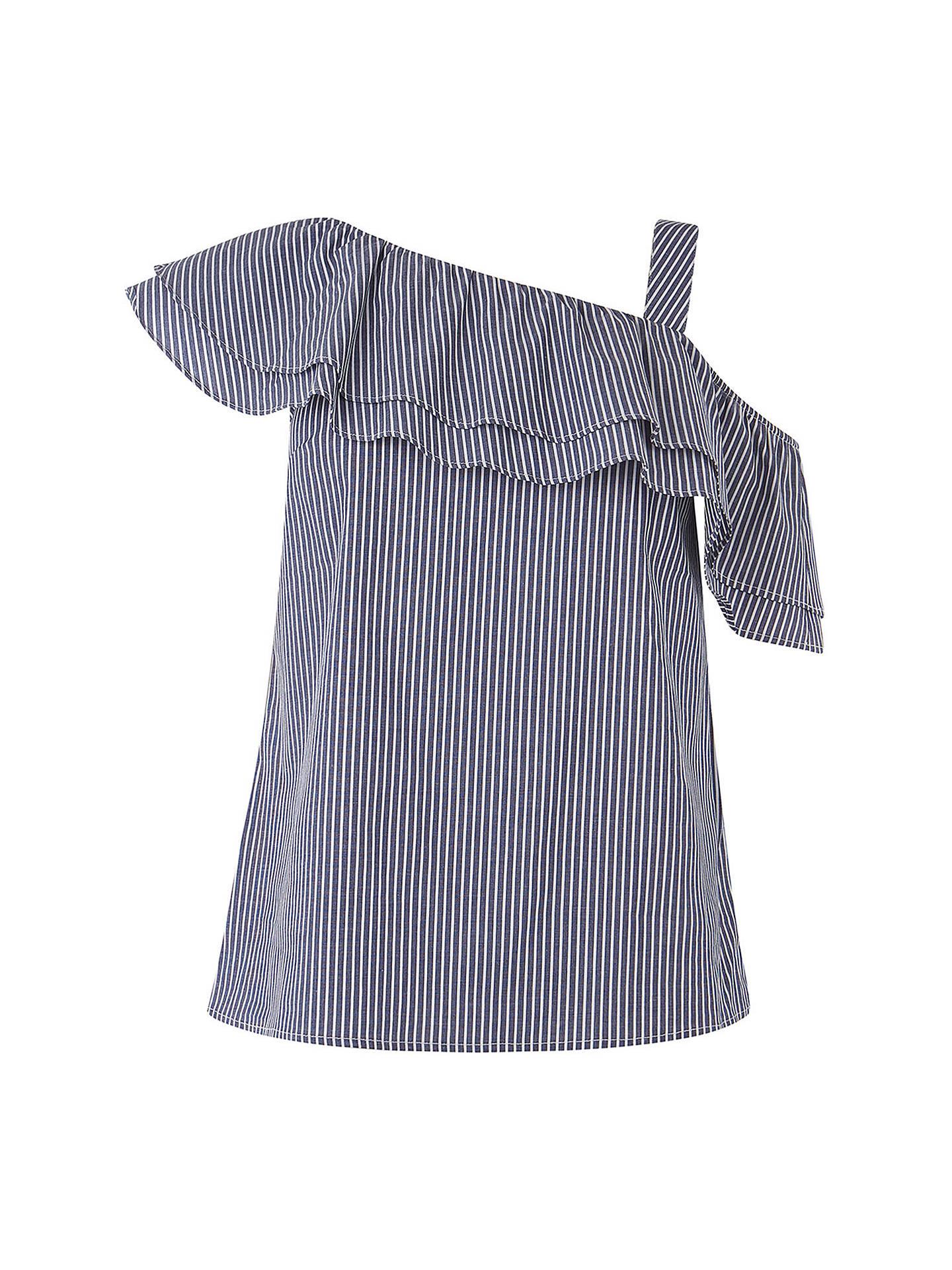 65ac7c2f997b66 ... Buy Oasis One Shoulder Striped Top