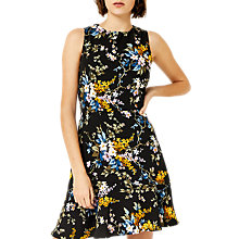 Buy Warehouse Trailing Floral Sleeveless Dress, Multi Online at johnlewis.com
