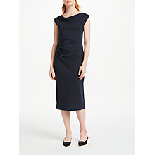 Buy Finery Midhurst Twist Dress, Navy Online at johnlewis.com