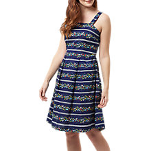 Buy Sugarhill Boutique Floral Stripe Sundress, Navy/Multi Online at johnlewis.com