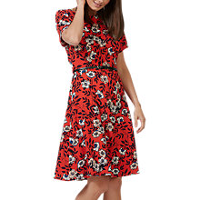 Buy Sugarhill Boutique Ohara Floral Dress, Red Online at johnlewis.com
