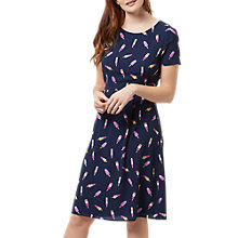 Buy Sugarhill Boutique Jinni Ice Lolly Dress, Navy Online at johnlewis.com
