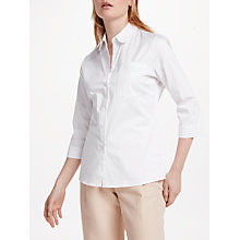 Buy Finery Ancona Fitted Shirt, White Online at johnlewis.com