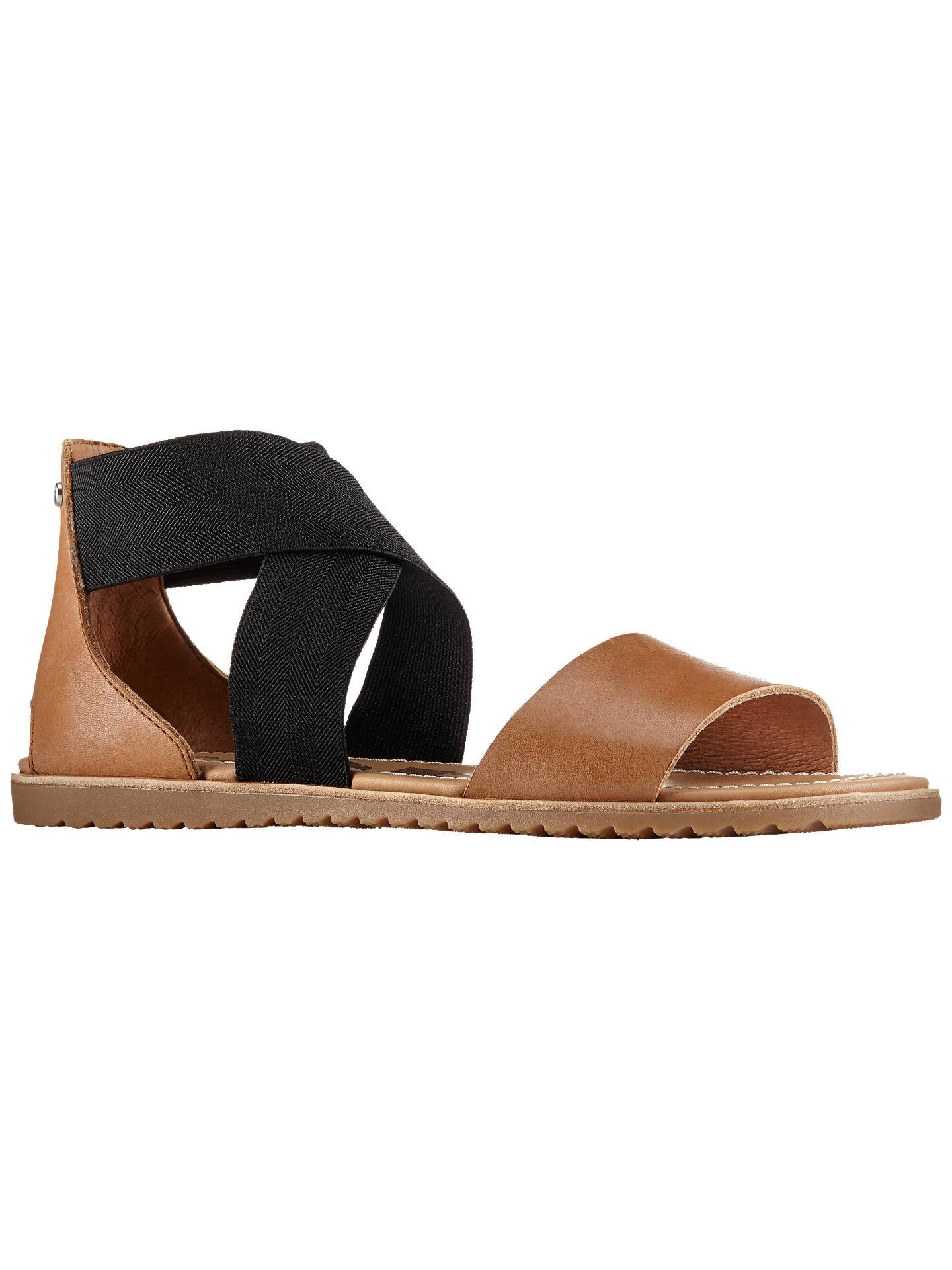d022ea990 Buy Sorel Ella Cross Strap Women's Sandals, Camel, 8 Online at johnlewis.  ...