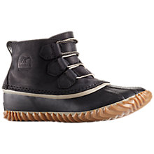 Buy Sorel Out N About Leather Women's Duck Boots Online at johnlewis.com