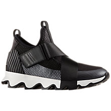 Buy Sorel Kinetic Women's Trainers, Black/White Online at johnlewis.com