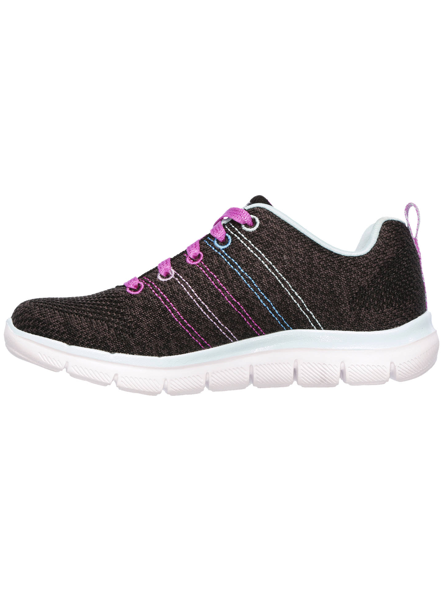 Buy Skechers Children's Skech Appeal 2.0 High Energy Trainers, Black, 37 Online at johnlewis.com