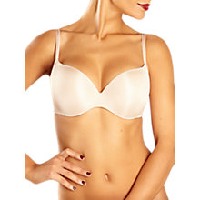 Buy Chantelle Irresistible T-Shirt Bra, Cappuccino Online at johnlewis.com