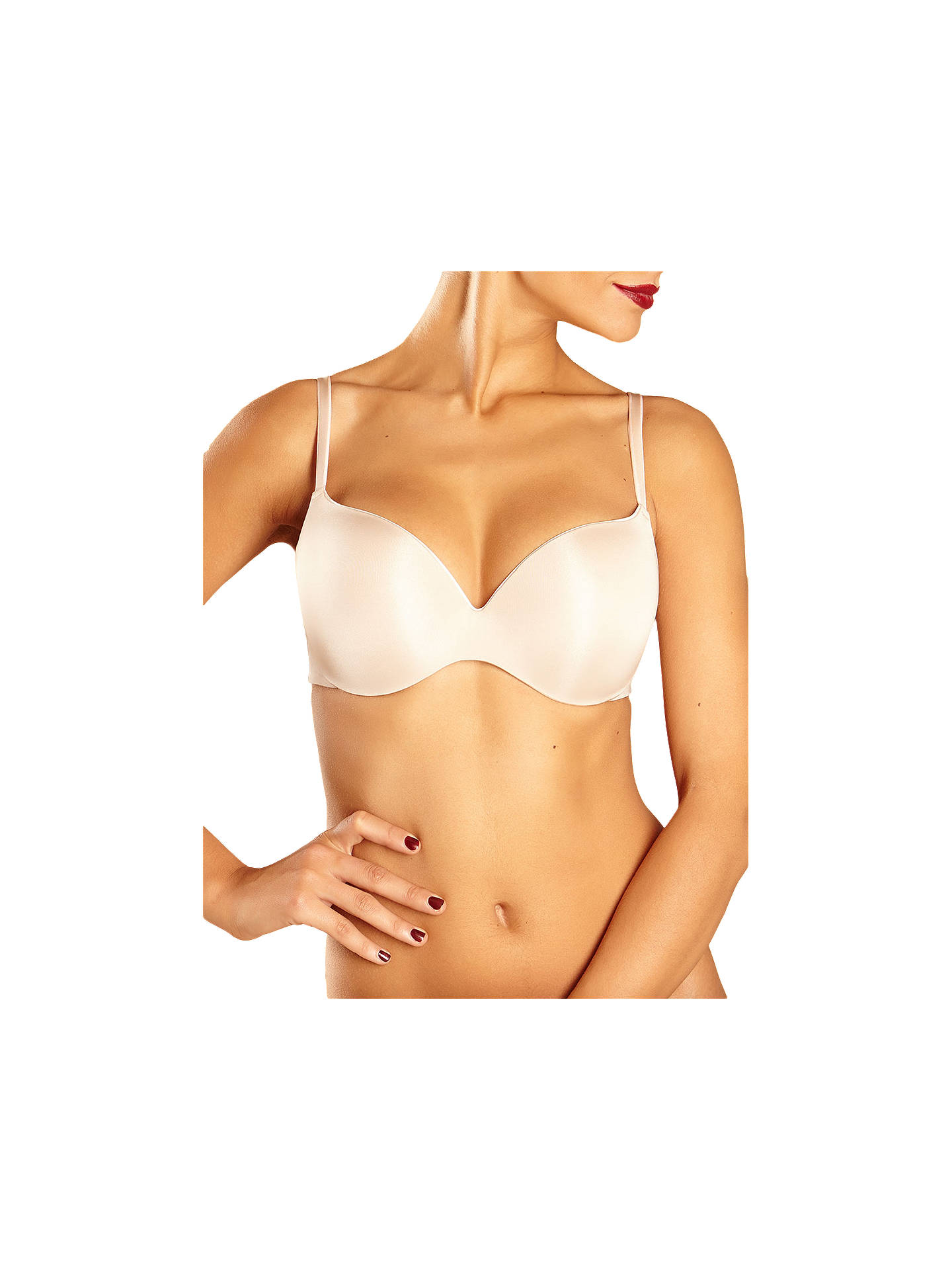 1e5d2aba5313c Buy Chantelle Irresistible T-Shirt Bra, Cappuccino, 32B Online at  johnlewis.com ...