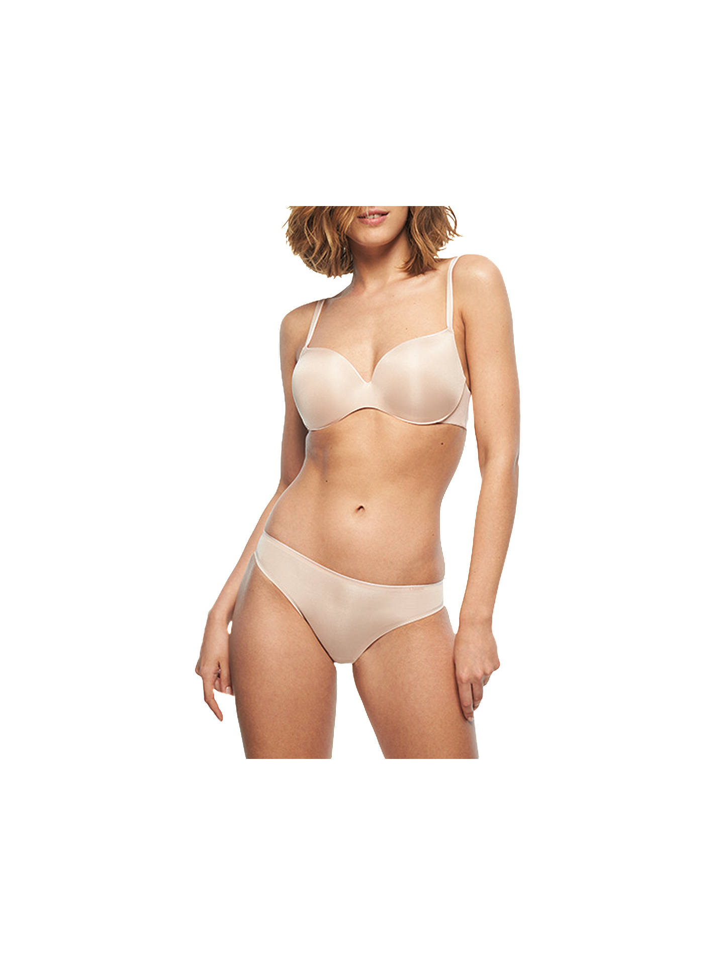 31661f0c487af ... Buy Chantelle Irresistible T-Shirt Bra, Cappuccino, 32B Online at  johnlewis.com ...