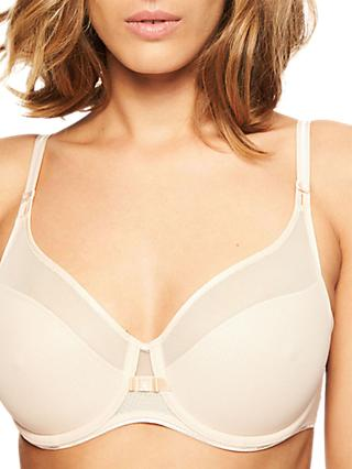 Chantelle Aeria Light Tulle Spacer Full Cup Bra, Golden Beige