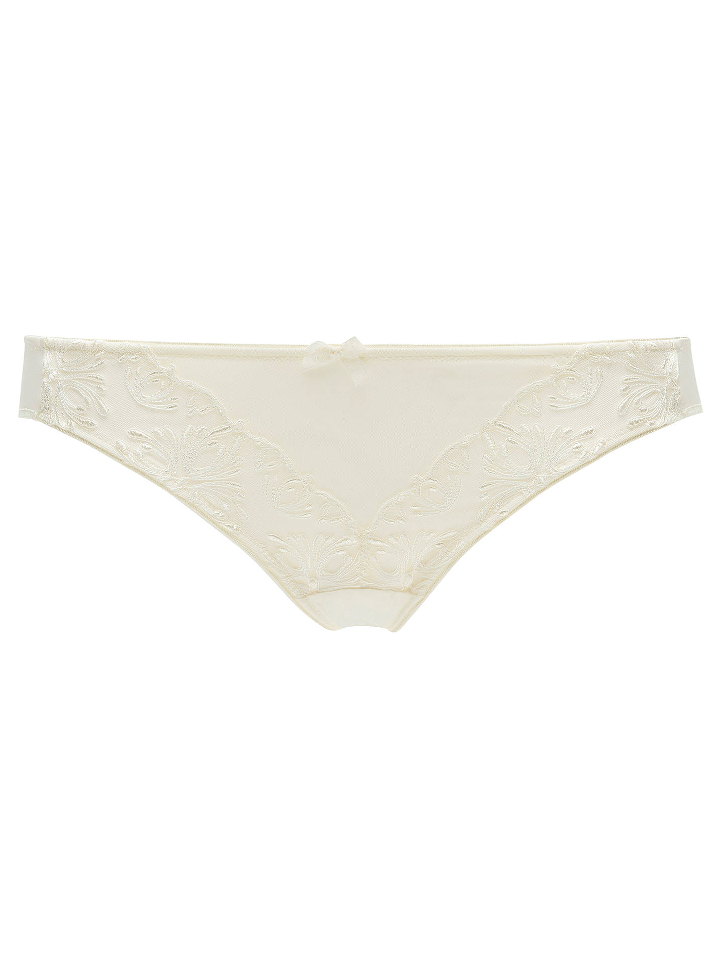 BuyChantelle Champs Elysees Briefs, Ivory, S Online at johnlewis.com