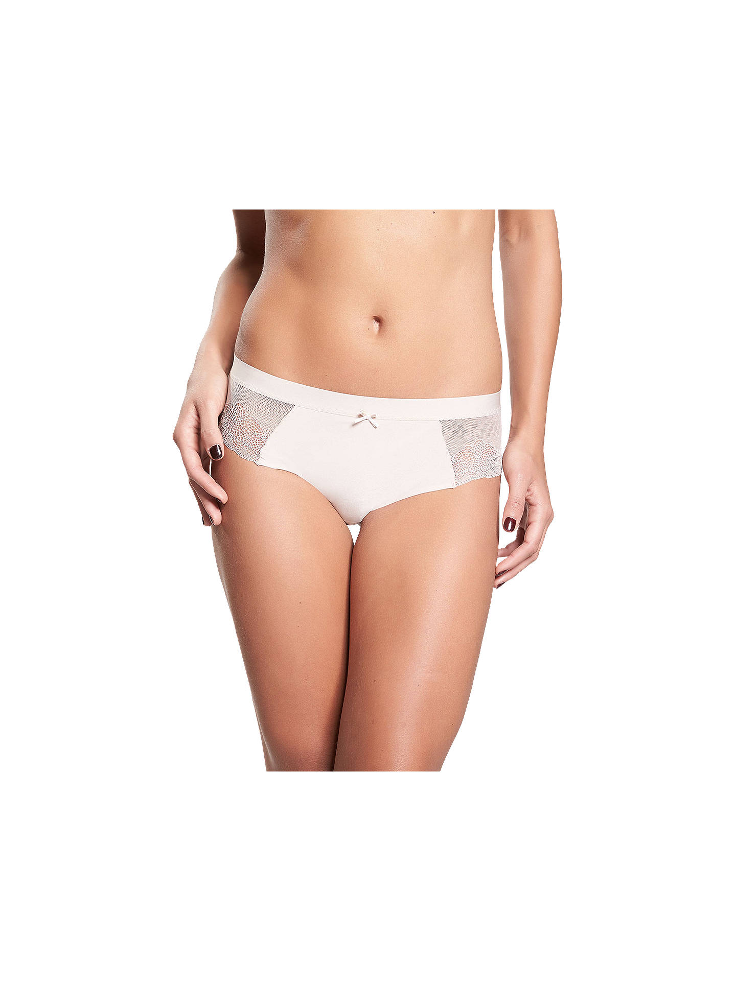 17df7a5b5055 Buy Chantelle Le Marais Hipster Briefs, Cappuccino, S Online at  johnlewis.com ...