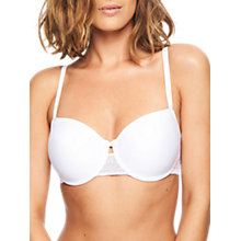 Buy Chantelle Le Marais Memory Foam T-Shirt Bra, White Online at johnlewis.com