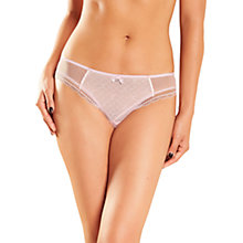 Buy Chantelle C Chic Sexy Brazilian Briefs, Candy Pink Online at johnlewis.com
