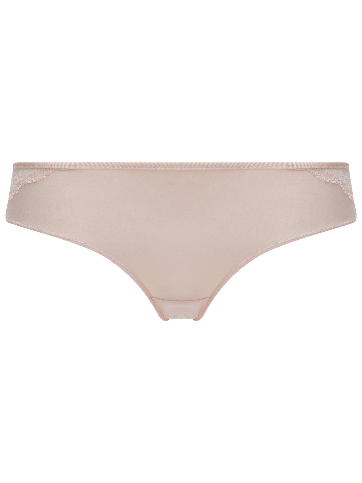 BuyChantelle Everyday Lace Briefs, Soft Pink, S Online at johnlewis.com