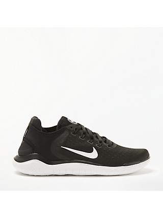 Nike Free RN 2018 Men's Running Shoe, Black/White