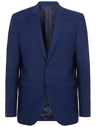 Jaeger Super 120s Wool Regular Fit Suit Jacket, Navy