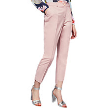 Buy Ted Baker Anett Side Seam Detail Trousers, Baby Pink Online at johnlewis.com