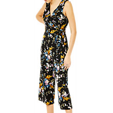 Buy Warehouse Trailing Floral Jumpsuit, Multi Online at johnlewis.com