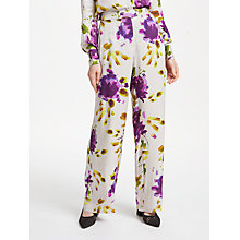 Buy Finery Abelia Trousers, Artist Flower Online at johnlewis.com