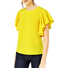 Buy Warehouse Ruffle T-Shrt Online at johnlewis.com