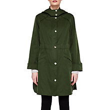 Buy Ted Baker Lightweight Hooded Parka, Dark Green Online at johnlewis.com