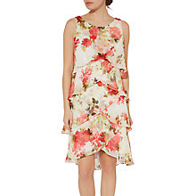 Buy Gina Bacconi Casie Floral Print Dress, Multi Online at johnlewis.com