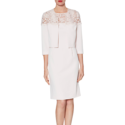 Gina Bacconi Doris Lace Dress And Jacket