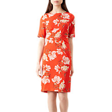 Buy Hobbs Stellie Dress, Red/Multi Online at johnlewis.com