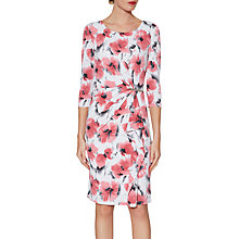 Buy Gina Bacconi Poppy Demi Floral Print Jersey Dress, Poppy Online at johnlewis.com