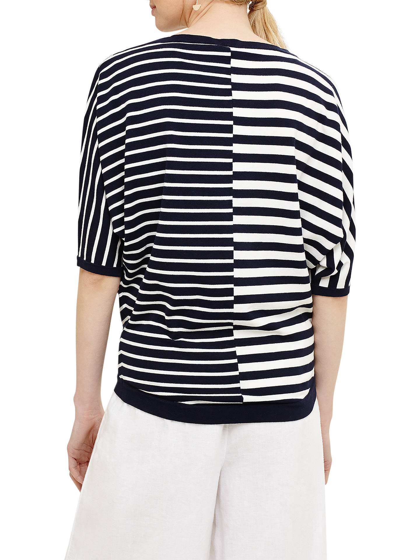 Phase Eight Sukie Broken Stripe Jumper at John Lewis & Partners