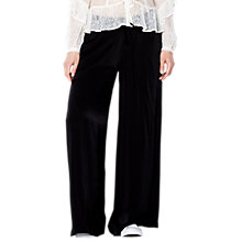 Buy Ghost Walton Trousers, Black Online at johnlewis.com