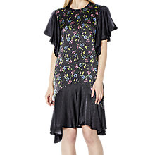 Buy Ghost Floral Spot Karlie Dress, Black/Multi Online at johnlewis.com