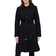 Buy Phase Eight Teah Trench Coat, Navy Online at johnlewis.com