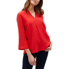 Buy Jaeger Collarless Bib Front Tunic Online at johnlewis.com