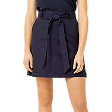 Buy Warehouse Compact Mini Skirt, Navy Online at johnlewis.com
