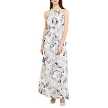 Buy Phase Eight Salema Floral Maxi Dress, Natural/Multi Online at johnlewis.com