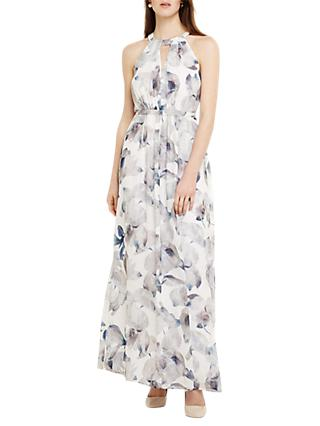 Phase Eight Salema Floral Maxi Dress, Natural/Multi