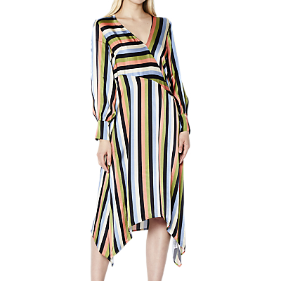 Ghost Marielle Dress, Rainbow Stripe