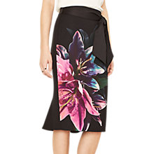Buy Oasis Lily Photographic Pencil Skirt, Multi Online at johnlewis.com
