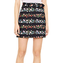 Buy Oasis Ditsy Texture Mini Skirt, Multi Online at johnlewis.com
