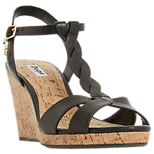 Buy Dune Koala Wedge Heel Sandals Online at johnlewis.com