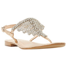 Buy Dune Newele Embellished Toe Post Sandals Online at johnlewis.com