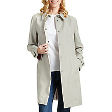 Buy Four Seasons Unlined Raincoat, Linen/Blush Online at johnlewis.com