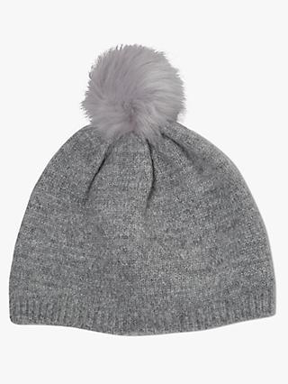 de150e26 John Lewis & Partners Children's Glitter Beanie Hat