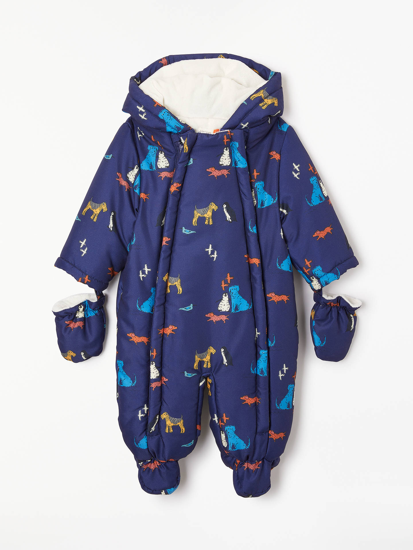 81579e6a9f09 John Lewis   Partners Baby Isle Of Dogs Snowsuit