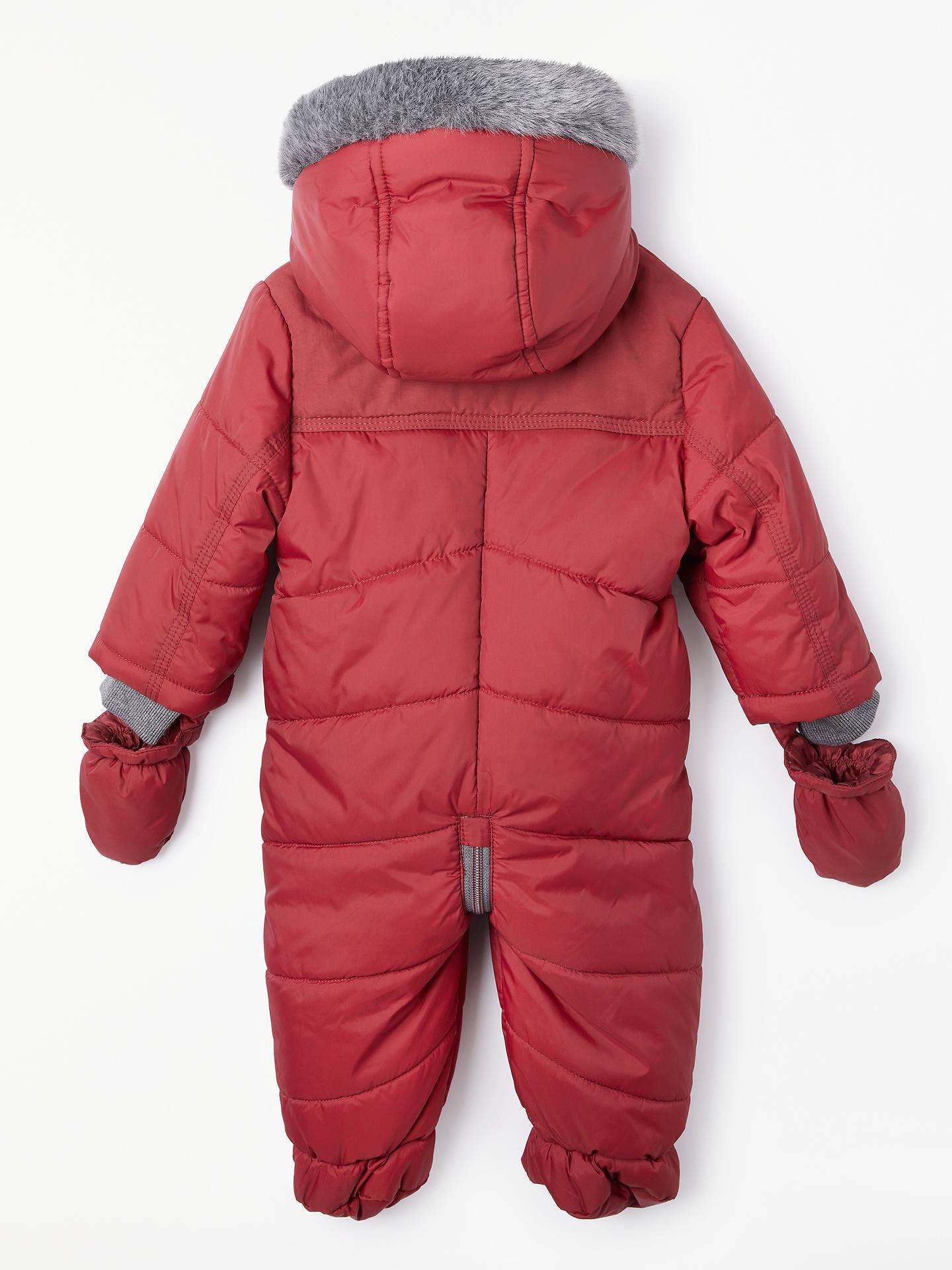 3922d2397781 John Lewis   Partners Baby Quilted Snowsuit