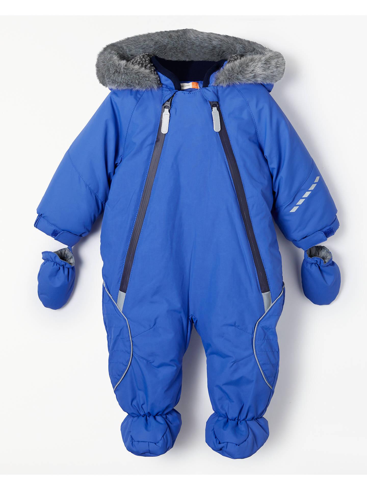 bbb02eb7ed Buy John Lewis   Partners Baby Reflective Snowsuit
