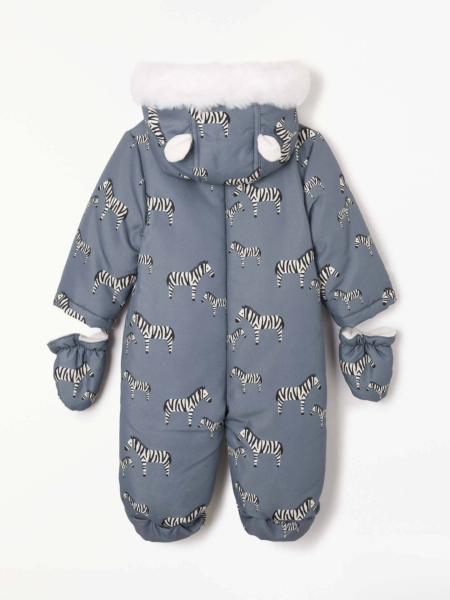 8f1dcbca2 John Lewis   Partners Baby Zebra Snowsuit